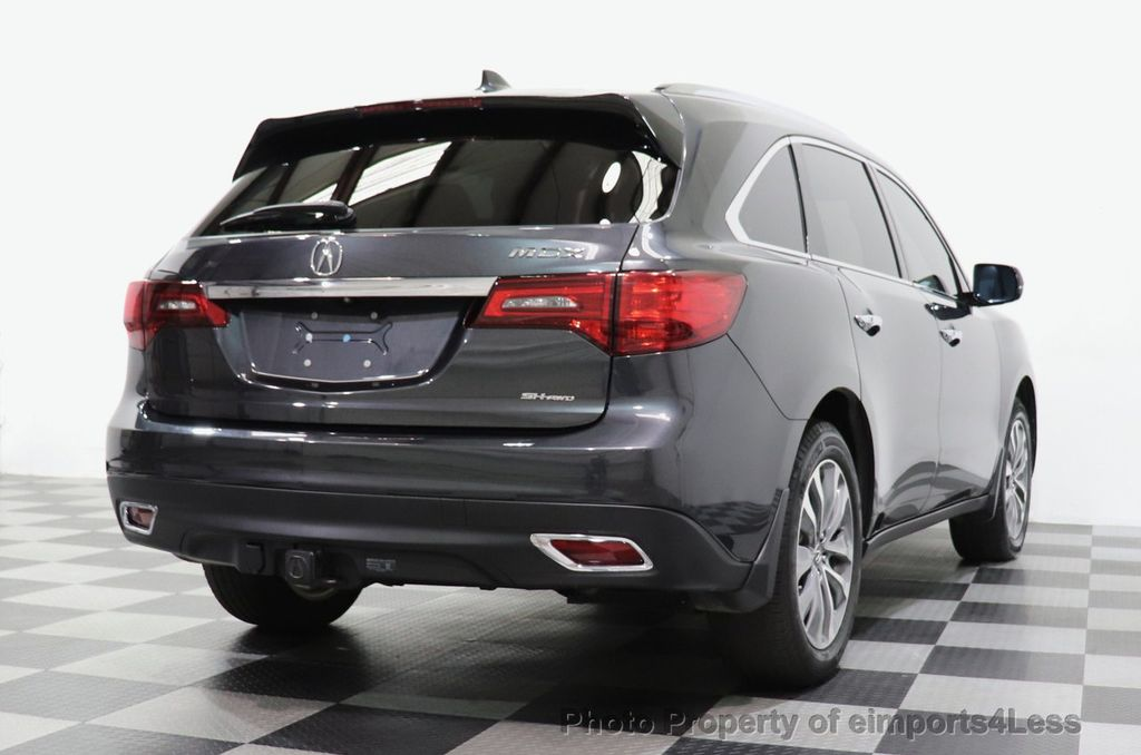 2016 Acura MDX CERTIFIED MDX SH-AWD ACURAWATCH TECH ENT 7 PASS - 18499012 - 56