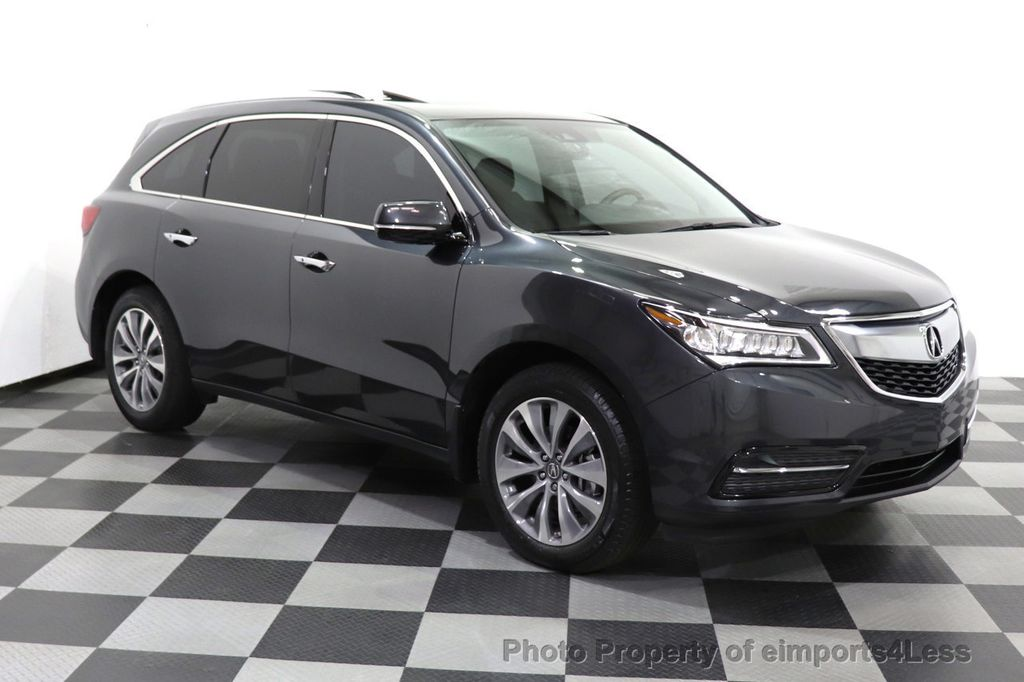 2016 Acura MDX CERTIFIED MDX SH-AWD ACURAWATCH TECH ENT 7 PASS - 18499012 - 57