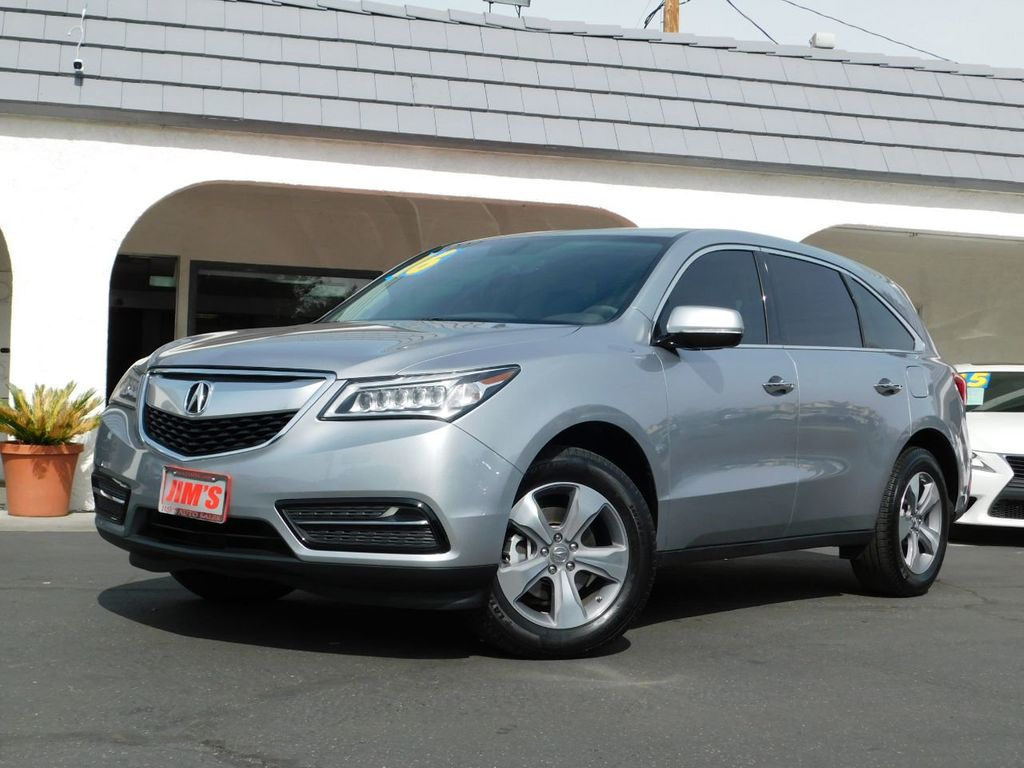 2016 Acura MDX FWD 4dr - 18608012 - 0