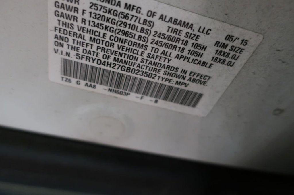 2016 Acura MDX SH-AWD 4dr w/AcuraWatch Plus - 17360197 - 35