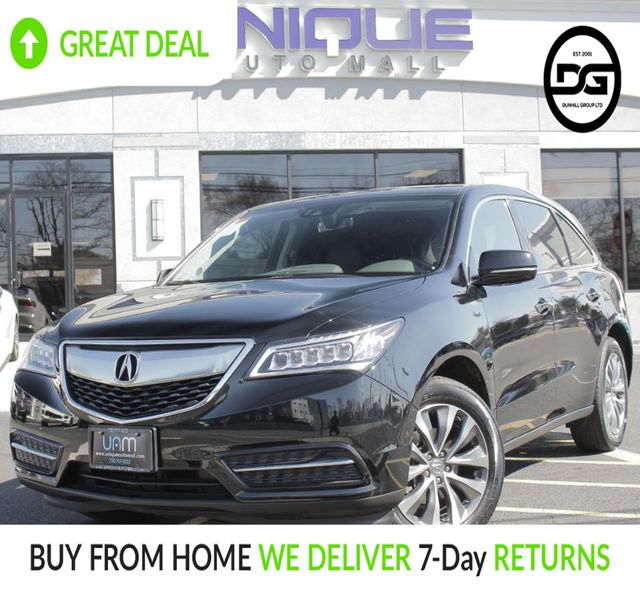 2016 Used Acura MDX SH-AWD 4dr W/Tech/AcuraWatch Plus At
