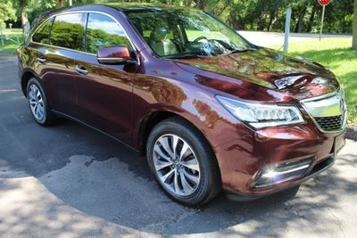 2016 Acura MDX TECHNOLOGY ACURA WATCH PLUS NAVIGATION, LEATHER MOONROOF AWD SUV