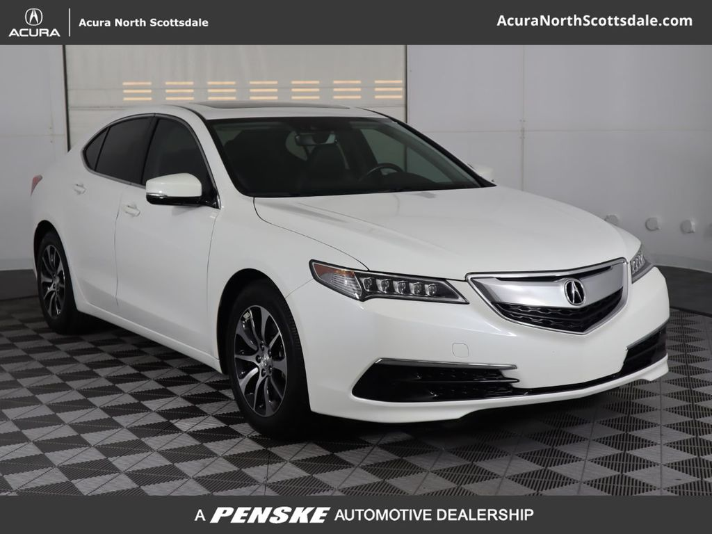 2016 Acura Tl >> 2016 Used Acura Tlx 4dr Sedan Fwd Tech At Bmw North Scottsdale Serving Phoenix Az Iid 19408758