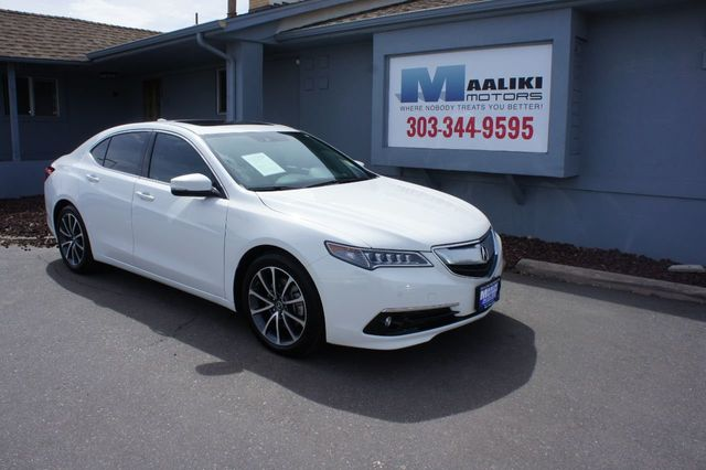 2016 Acura Tlx 4dr Sedan Sh Awd V6 Advance 18790017 0