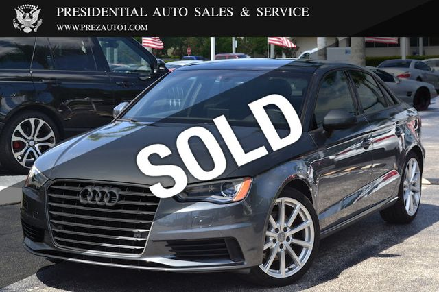 Audi A3 Leasing >> 2016 Used Audi A3 4dr Sedan Fwd 1 8t Premium At Presidential Auto Sales Service And Leasing Serving Palm Beach Boca Raton Delray Beach Fl Iid