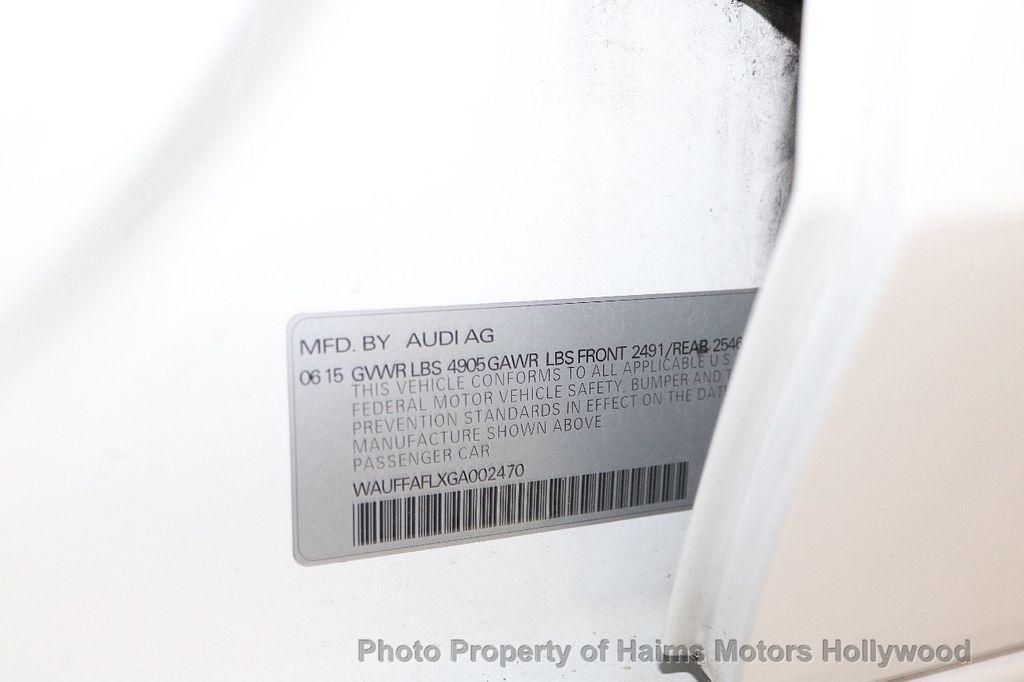 2016 Audi A4 4dr Sedan Automatic quattro 2.0T Premium Plus - 18283244 - 37