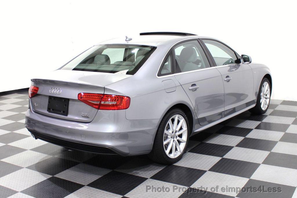 2016 Audi A4 CERTIFIED A4 2.0t Quattro Premium Plus S-Line AWD CAM NAV - 17958313 - 32