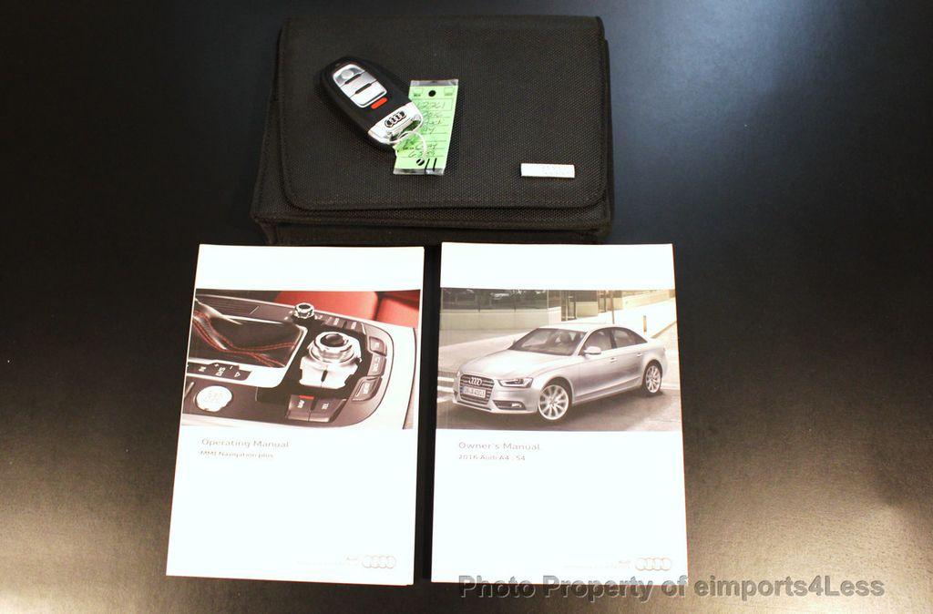 2016 Audi A4 CERTIFIED A4 2.0t Quattro Premium Plus S-Line AWD CAM NAV - 17958313 - 40
