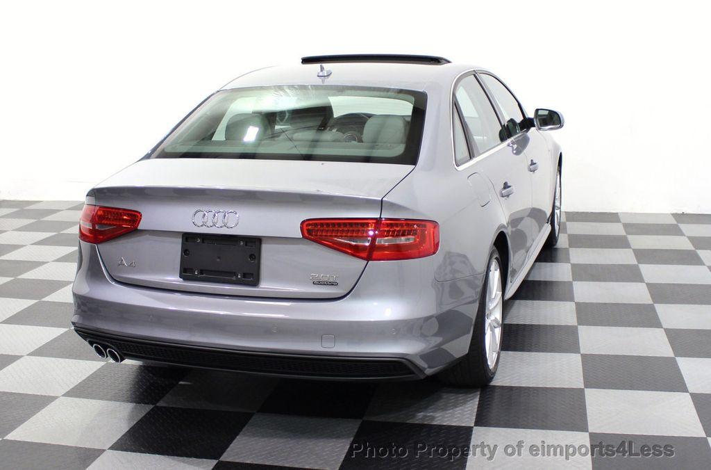 2016 Audi A4 CERTIFIED A4 2.0t Quattro Premium Plus S-Line AWD CAM NAV - 17958313 - 47