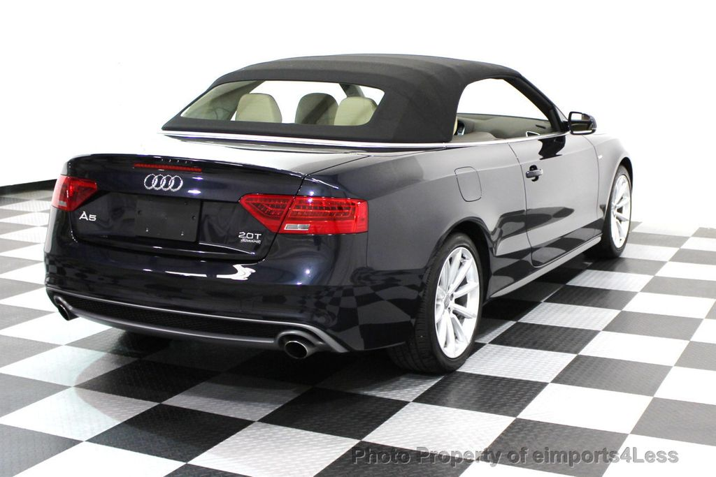 2016 used audi a5 certifed a5 quattro premium plus convertible at eimports4less serving. Black Bedroom Furniture Sets. Home Design Ideas