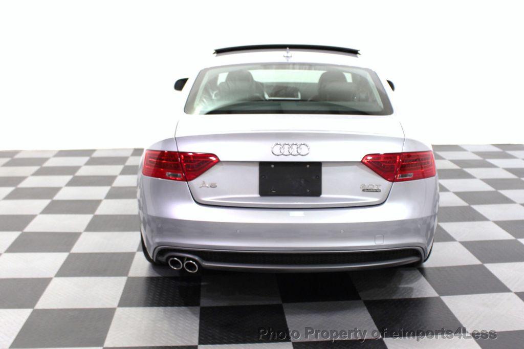 2016 Audi A5 CERTIFIED A5 2.0t Quattro Premium Plus SPORT TECH CAM NAV - 18006914 - 17
