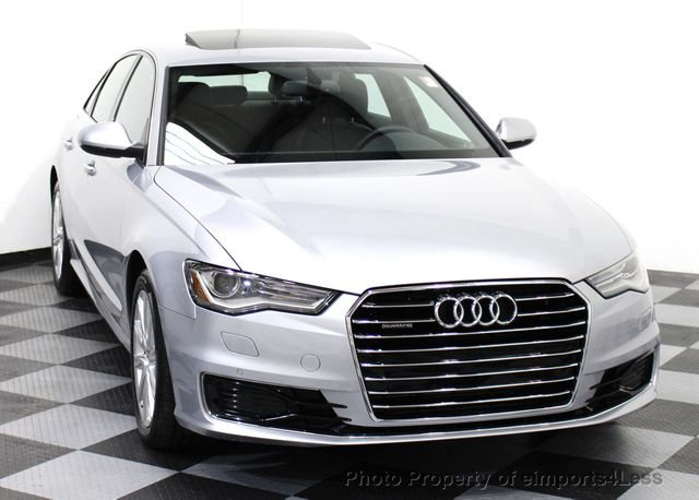 2016 used audi a6 certified a6 quattro awd premium plus sedan navigation at eimports4less. Black Bedroom Furniture Sets. Home Design Ideas