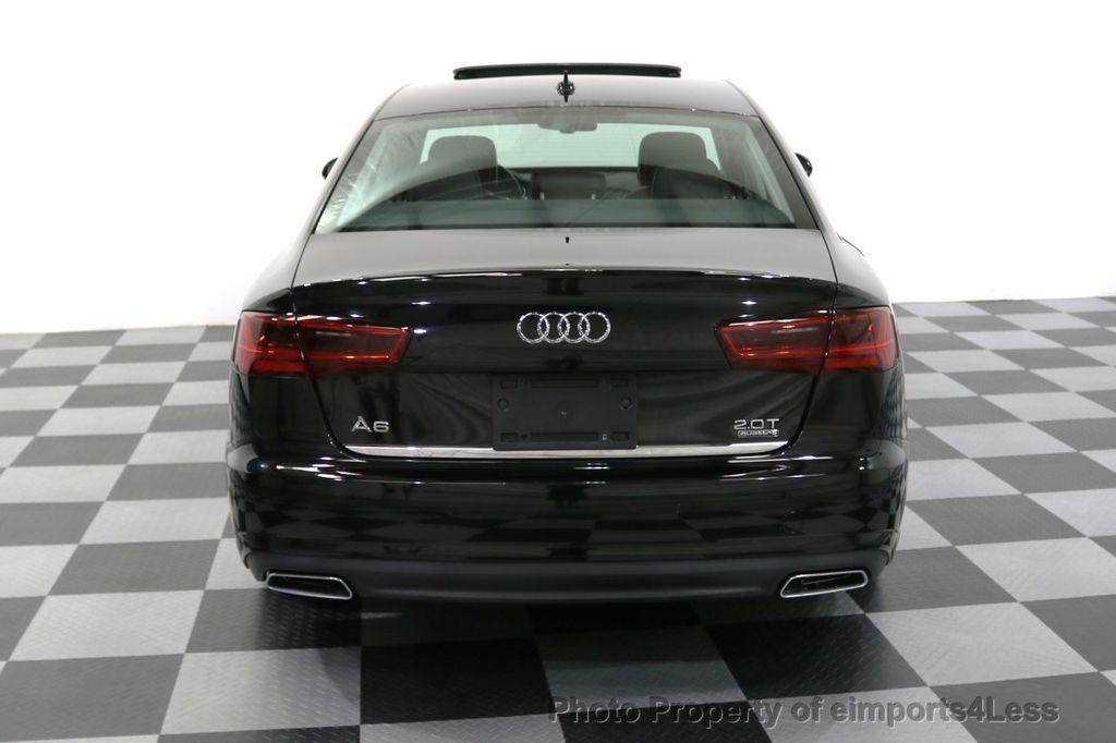 2016 Audi A6 CERTIFIED A6 2.0t Quattro Premium Plus AWD CAM BOSE NAVI - 18006913 - 16