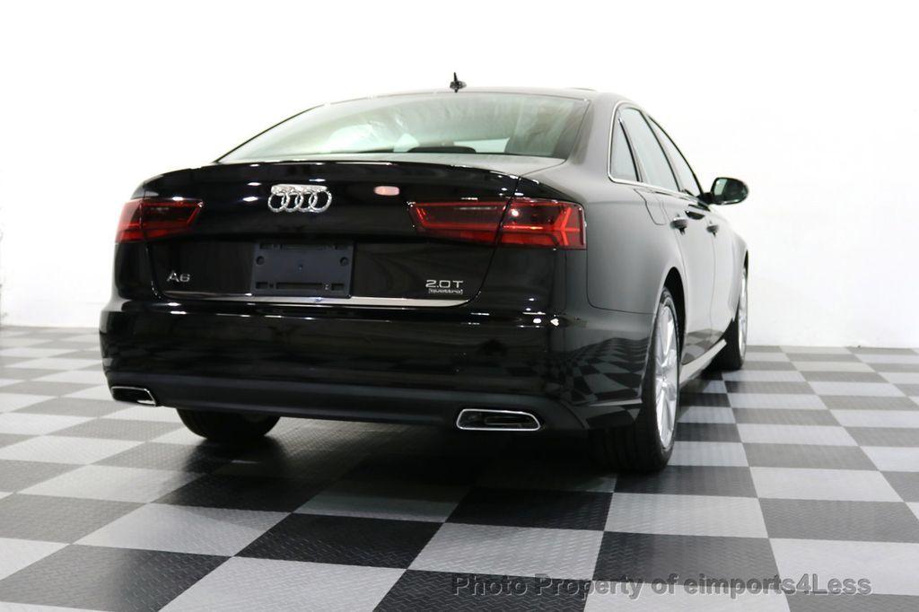 2016 Audi A6 CERTIFIED A6 2.0t Quattro Premium Plus AWD CAM BOSE NAVI - 18006913 - 17