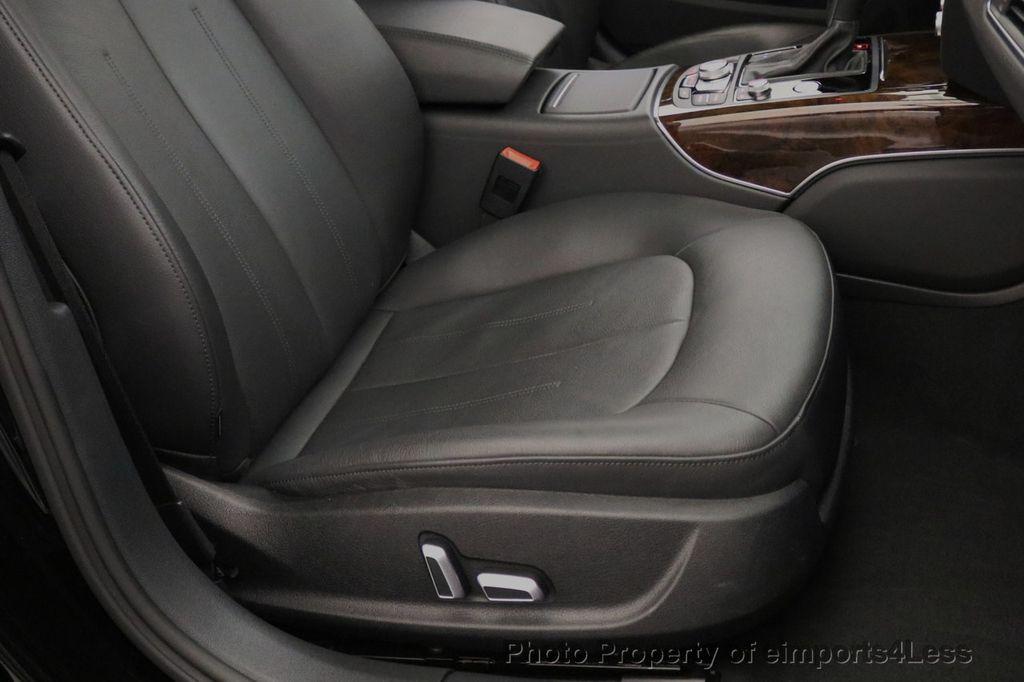 2016 Audi A6 CERTIFIED A6 2.0t Quattro Premium Plus AWD CAM BOSE NAVI - 18006913 - 23