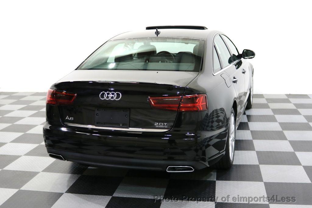 2016 Audi A6 CERTIFIED A6 2.0t Quattro Premium Plus AWD CAM BOSE NAVI - 18006913 - 48