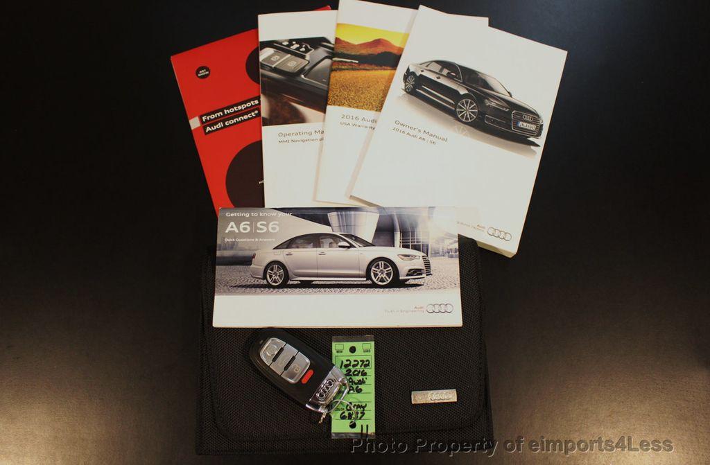 2016 Audi A6 CERTIFIED A6 2.0t Quattro PREMIUM PLUS AWD Camera BOSE NAV - 17981806 - 40
