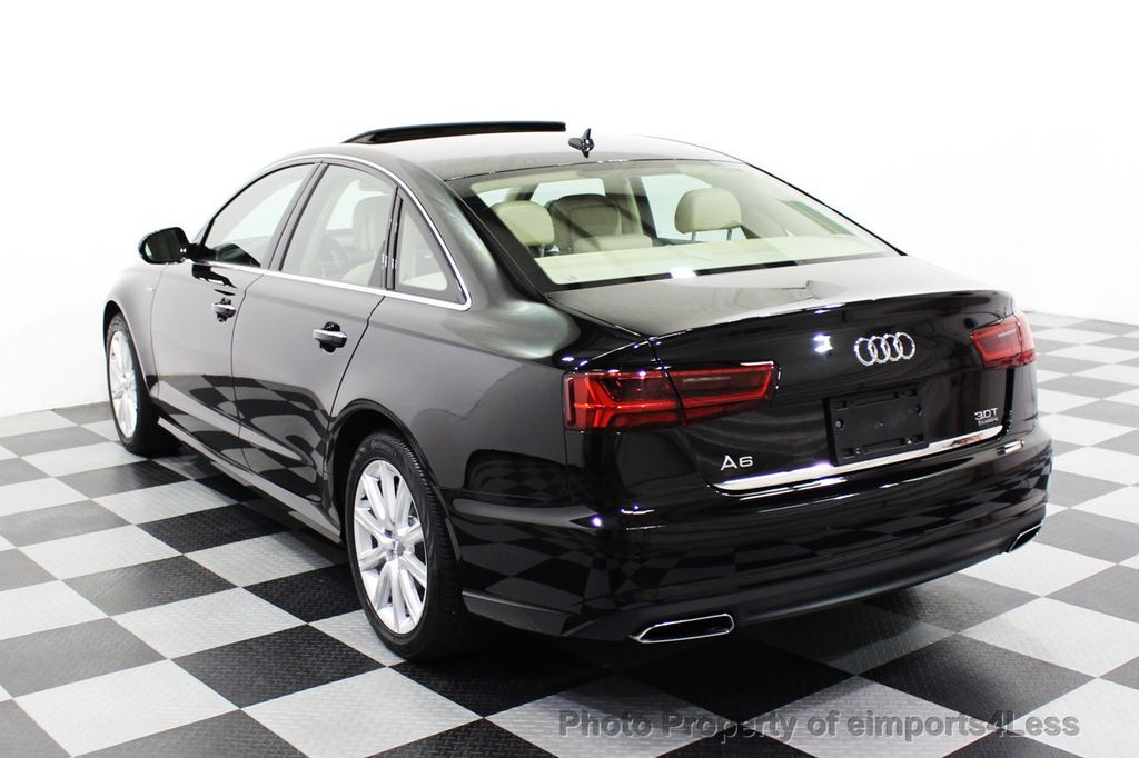 2016 Audi A6 CERTIFIED A6 3.0T Quattro AWD LEDs SIDE ASSIST CAM NAV - 18081086 - 16