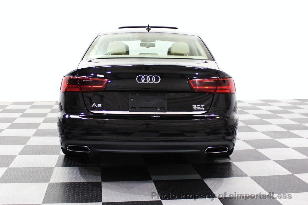 2016 Audi A6 CERTIFIED A6 3.0T Quattro AWD LEDs SIDE ASSIST CAM NAV - 18081086 - 17