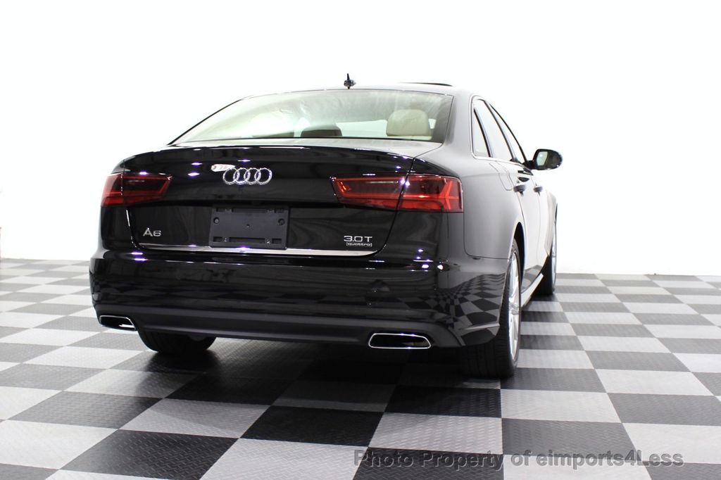 2016 Audi A6 CERTIFIED A6 3.0T Quattro AWD LEDs SIDE ASSIST CAM NAV - 18081086 - 18