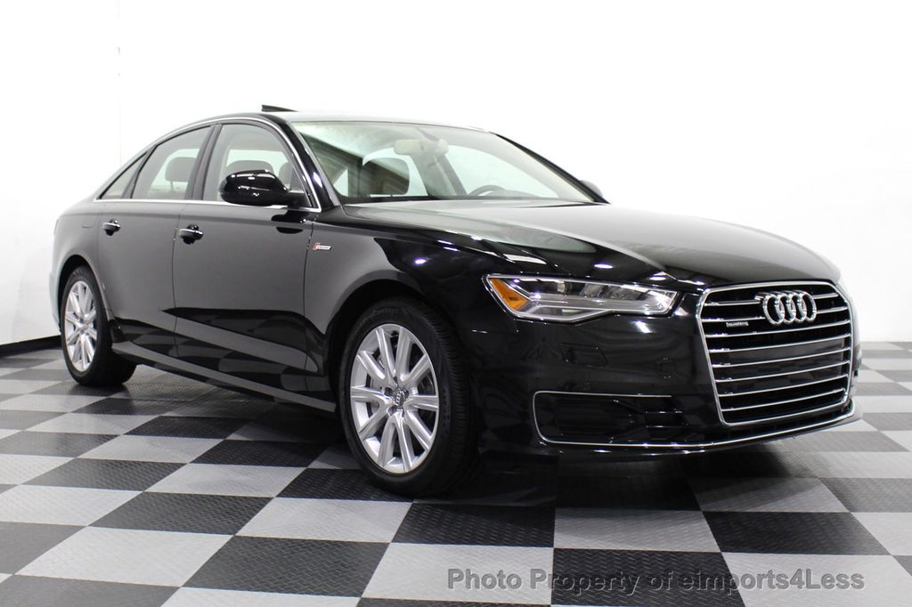 2016 Audi A6 CERTIFIED A6 3.0T Quattro AWD LEDs SIDE ASSIST CAM NAV - 18081086 - 1