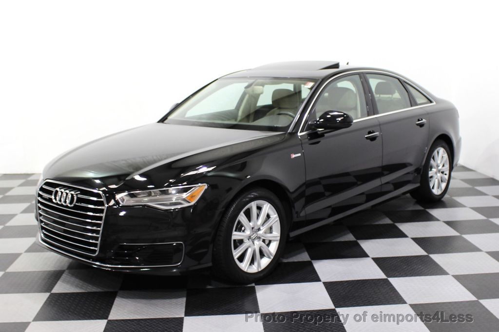 2016 Audi A6 CERTIFIED A6 3.0T Quattro AWD LEDs SIDE ASSIST CAM NAV - 18081086 - 27
