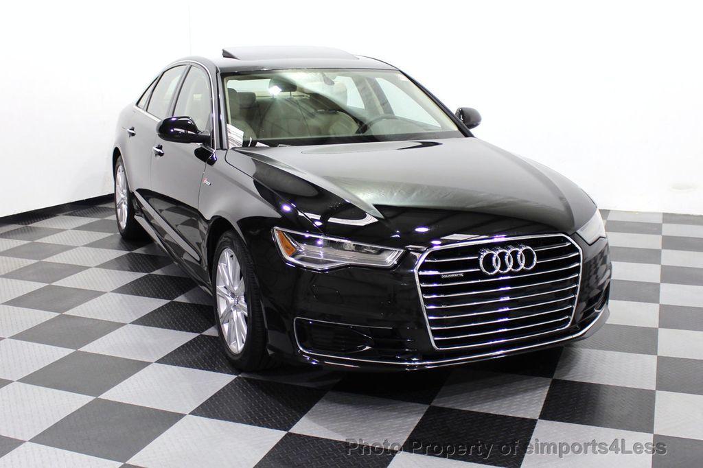 2016 Audi A6 CERTIFIED A6 3.0T Quattro AWD LEDs SIDE ASSIST CAM NAV - 18081086 - 28