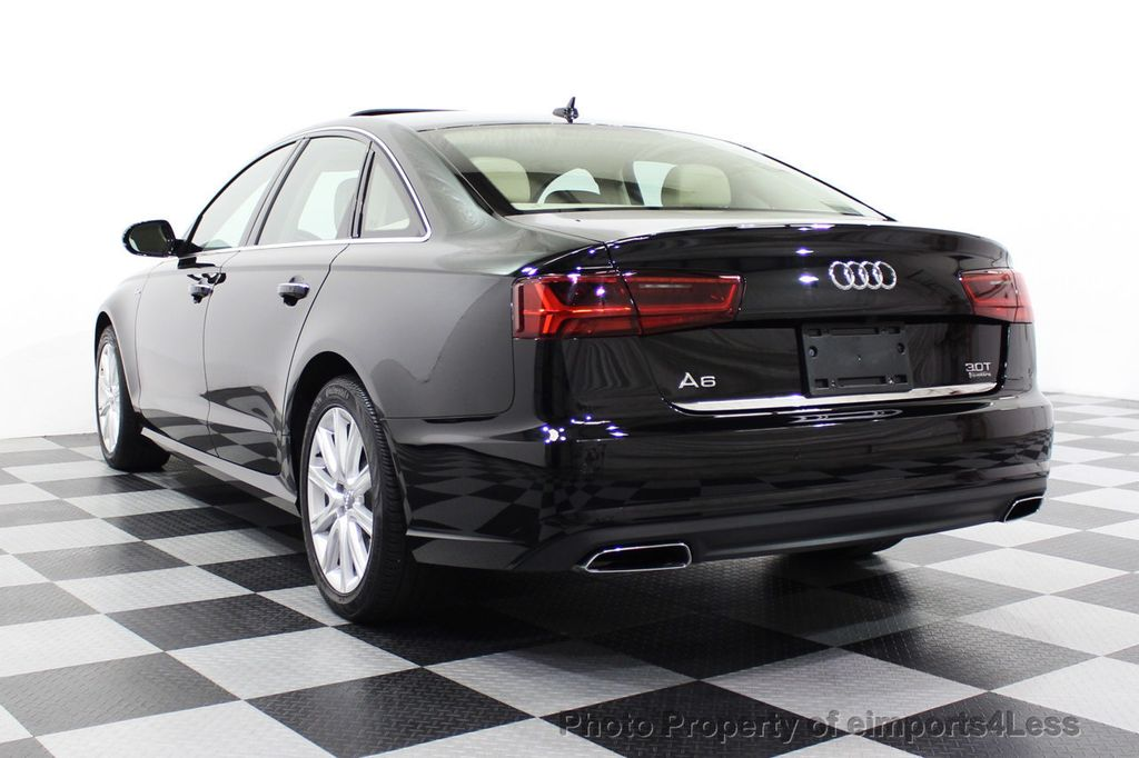 2016 Audi A6 CERTIFIED A6 3.0T Quattro AWD LEDs SIDE ASSIST CAM NAV - 18081086 - 2
