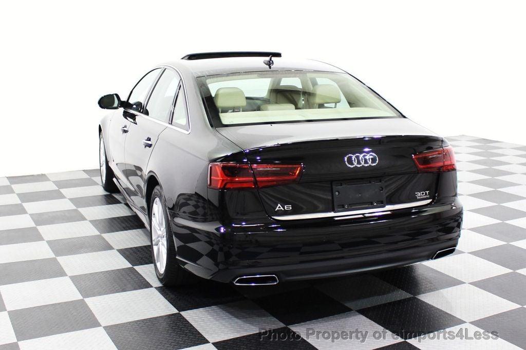 2016 Audi A6 CERTIFIED A6 3.0T Quattro AWD LEDs SIDE ASSIST CAM NAV - 18081086 - 29