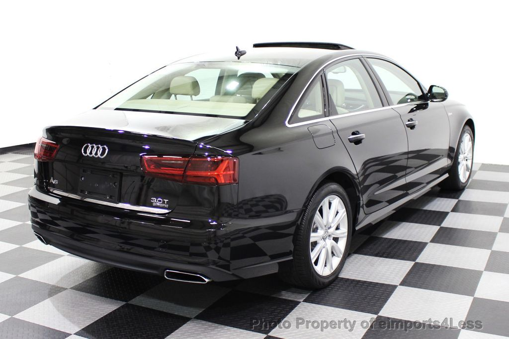 2016 Audi A6 CERTIFIED A6 3.0T Quattro AWD LEDs SIDE ASSIST CAM NAV - 18081086 - 31