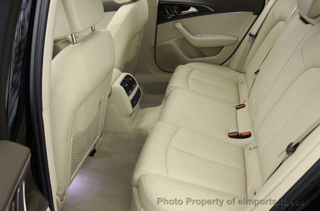 2016 Audi A6 CERTIFIED A6 3.0T Quattro AWD LEDs SIDE ASSIST CAM NAV - 18081086 - 35