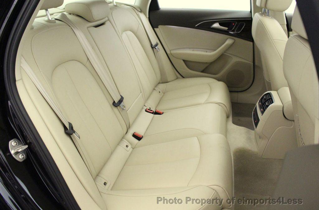2016 Audi A6 CERTIFIED A6 3.0T Quattro AWD LEDs SIDE ASSIST CAM NAV - 18081086 - 36