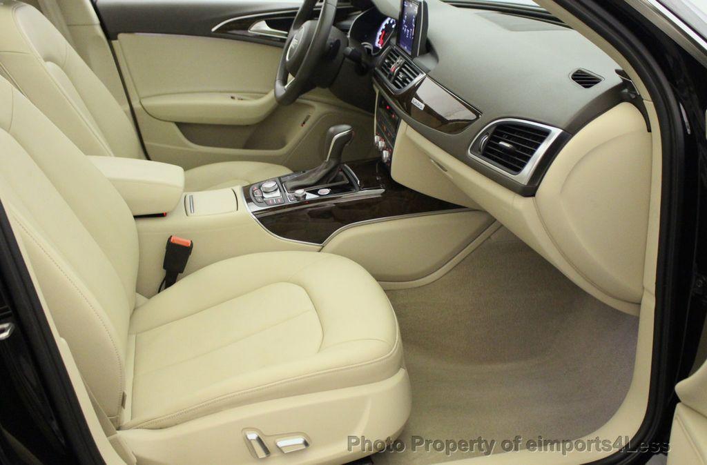 2016 Audi A6 CERTIFIED A6 3.0T Quattro AWD LEDs SIDE ASSIST CAM NAV - 18081086 - 38