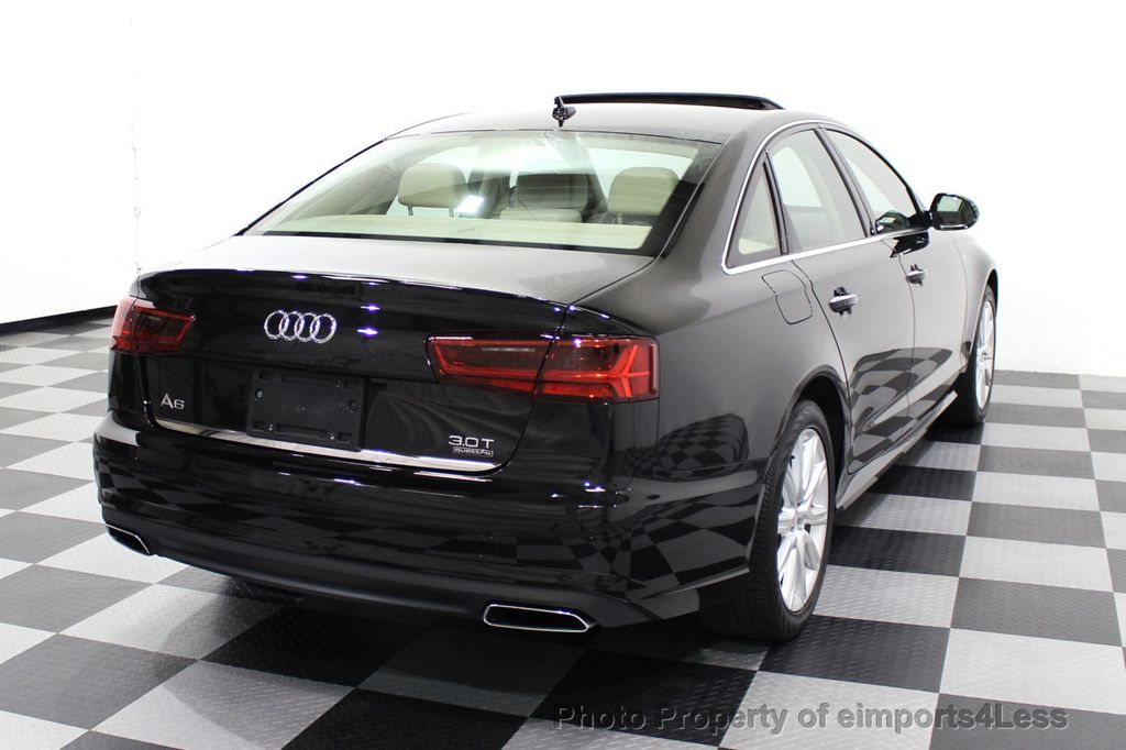 2016 Audi A6 CERTIFIED A6 3.0T Quattro AWD LEDs SIDE ASSIST CAM NAV - 18081086 - 3