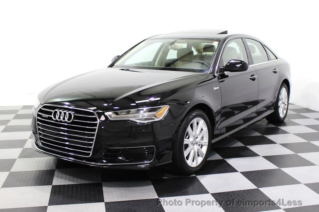 2016 Audi A6 CERTIFIED A6 3.0T Quattro AWD LEDs SIDE ASSIST CAM NAV - 18081086 - 43