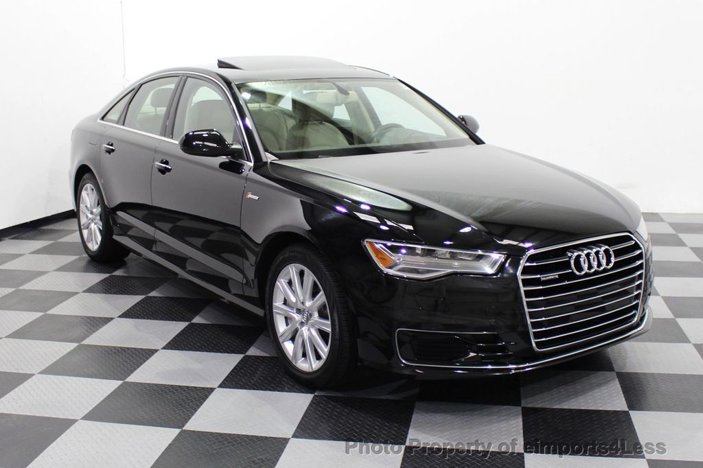 2016 Audi A6 CERTIFIED A6 3.0T Quattro AWD LEDs SIDE ASSIST CAM NAV - 18081086 - 44