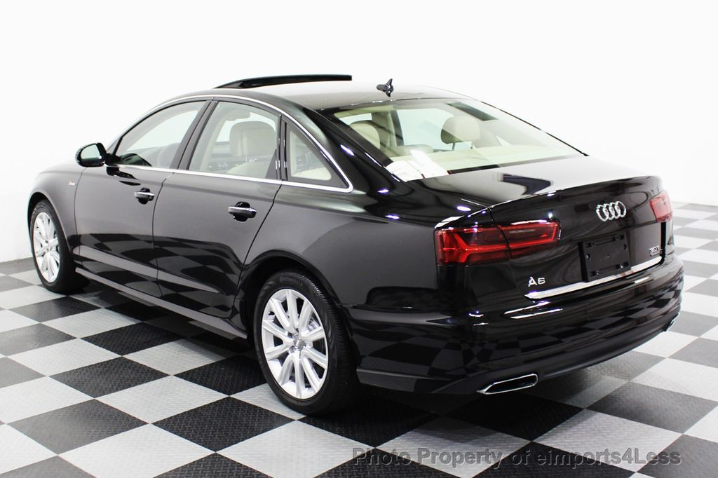 2016 Audi A6 CERTIFIED A6 3.0T Quattro AWD LEDs SIDE ASSIST CAM NAV - 18081086 - 45
