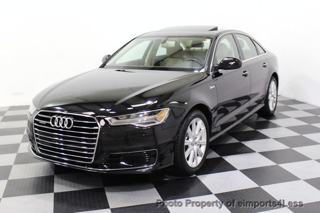 2016 Audi A6 CERTIFIED A6 3.0T Quattro AWD LEDs SIDE ASSIST CAM NAV - 18081086 - 51