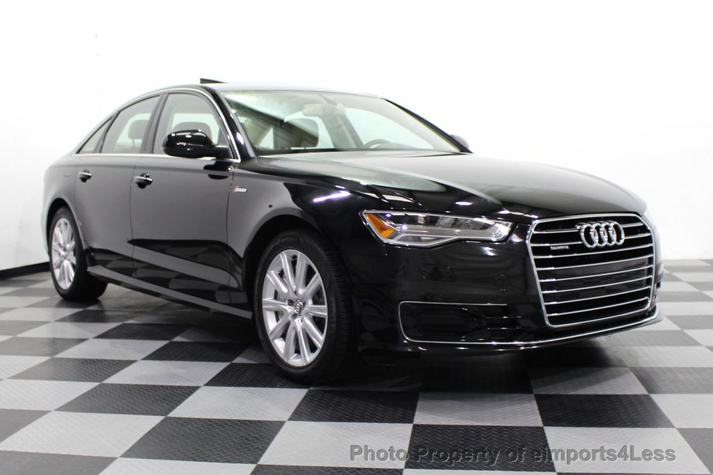 2016 Audi A6 CERTIFIED A6 3.0T Quattro AWD LEDs SIDE ASSIST CAM NAV - 18081086 - 52