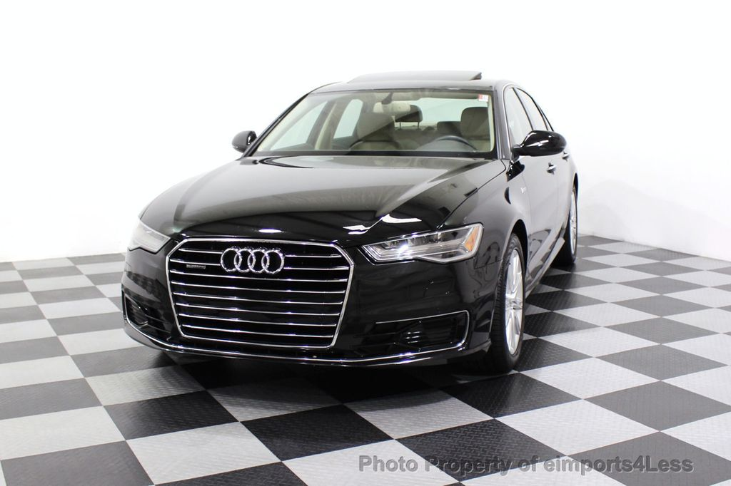 2016 Audi A6 CERTIFIED A6 3.0T Quattro AWD LEDs SIDE ASSIST CAM NAV - 18081086 - 53