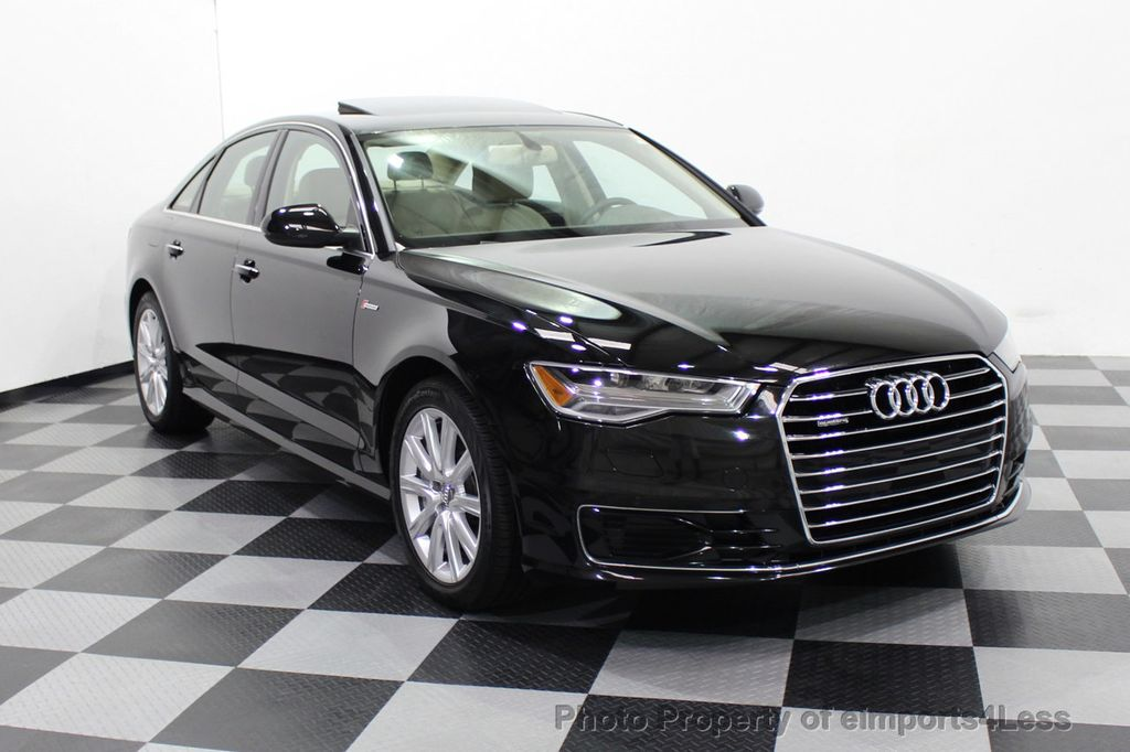 2016 Audi A6 CERTIFIED A6 3.0T Quattro AWD LEDs SIDE ASSIST CAM NAV - 18081086 - 56