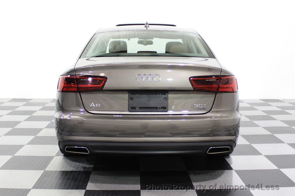 2016 Audi A6 CERTIFIED A6 3.0T Supercharged Quattro AWD Blind Spot CAMERA NAV - 18227510 - 17