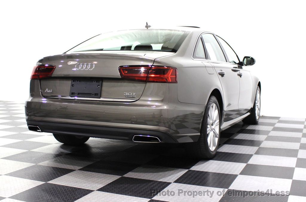 2016 Audi A6 CERTIFIED A6 3.0T Supercharged Quattro AWD Blind Spot CAMERA NAV - 18227510 - 18