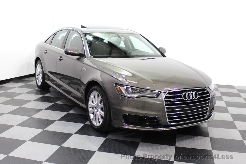 2016 Audi A6 CERTIFIED A6 3.0T Supercharged Quattro AWD Blind Spot CAMERA NAV - 18227510 - 1