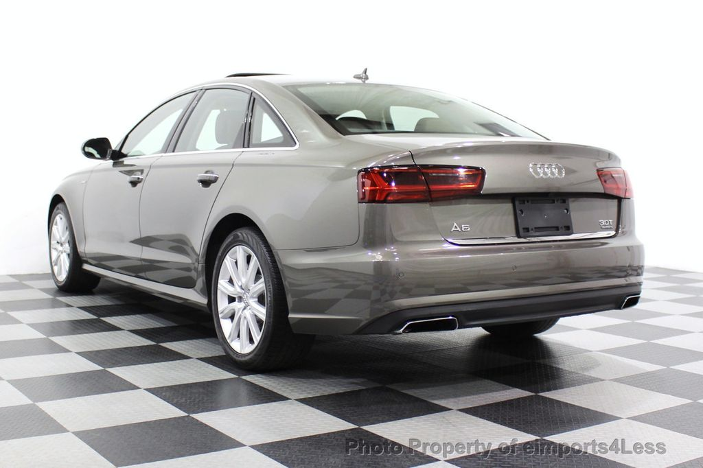 2016 Audi A6 CERTIFIED A6 3.0T Supercharged Quattro AWD Blind Spot CAMERA NAV - 18227510 - 2