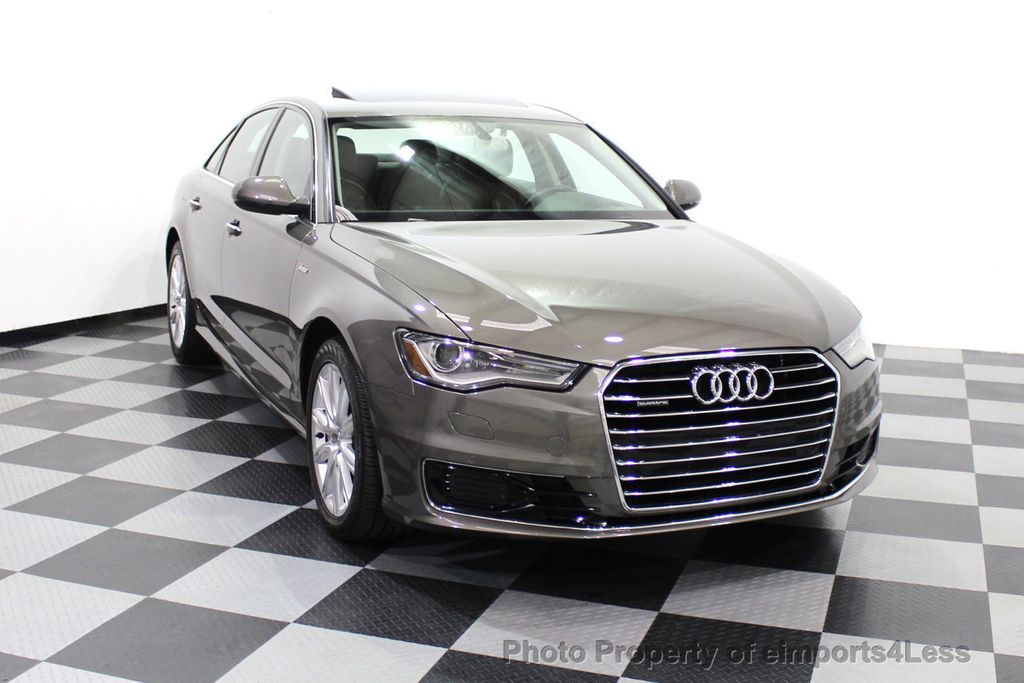 2016 Audi A6 CERTIFIED A6 3.0T Supercharged Quattro AWD Blind Spot CAMERA NAV - 18227510 - 29