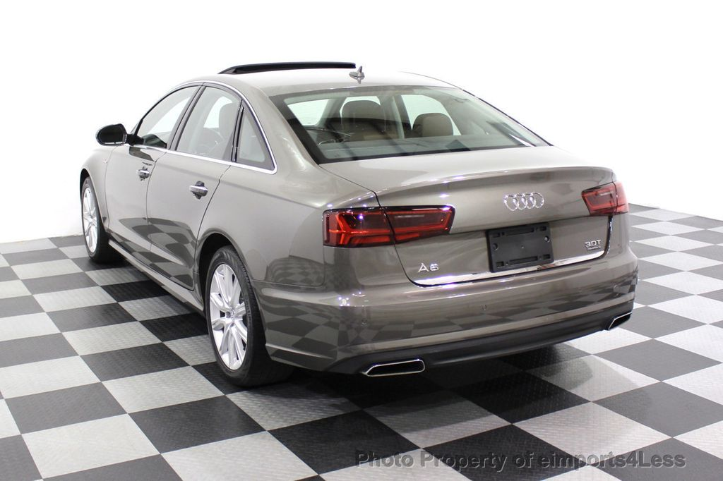 2016 Audi A6 CERTIFIED A6 3.0T Supercharged Quattro AWD Blind Spot CAMERA NAV - 18227510 - 30