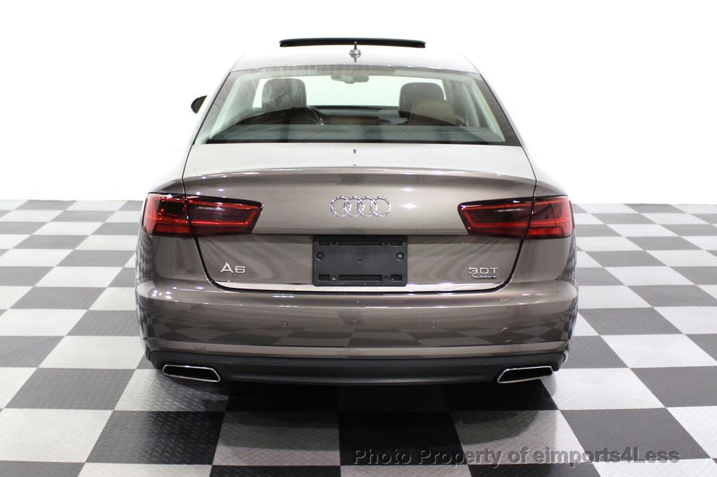 2016 Audi A6 CERTIFIED A6 3.0T Supercharged Quattro AWD Blind Spot CAMERA NAV - 18227510 - 31