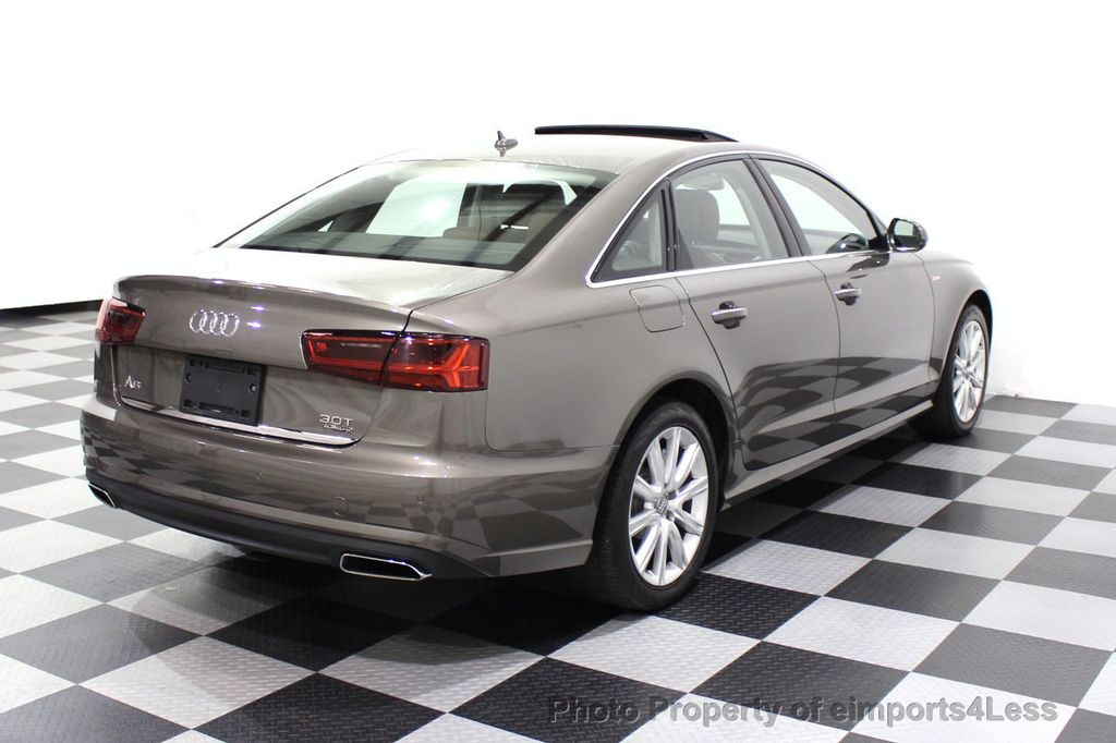 2016 Audi A6 CERTIFIED A6 3.0T Supercharged Quattro AWD Blind Spot CAMERA NAV - 18227510 - 32
