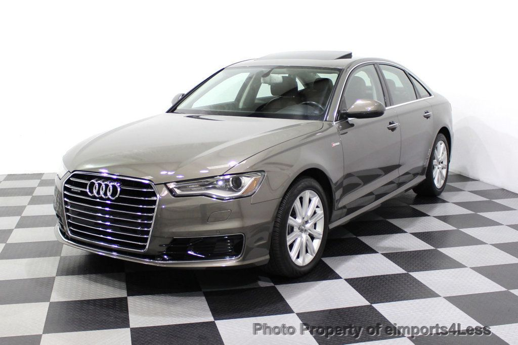 2016 Audi A6 CERTIFIED A6 3.0T Supercharged Quattro AWD Blind Spot CAMERA NAV - 18227510 - 52